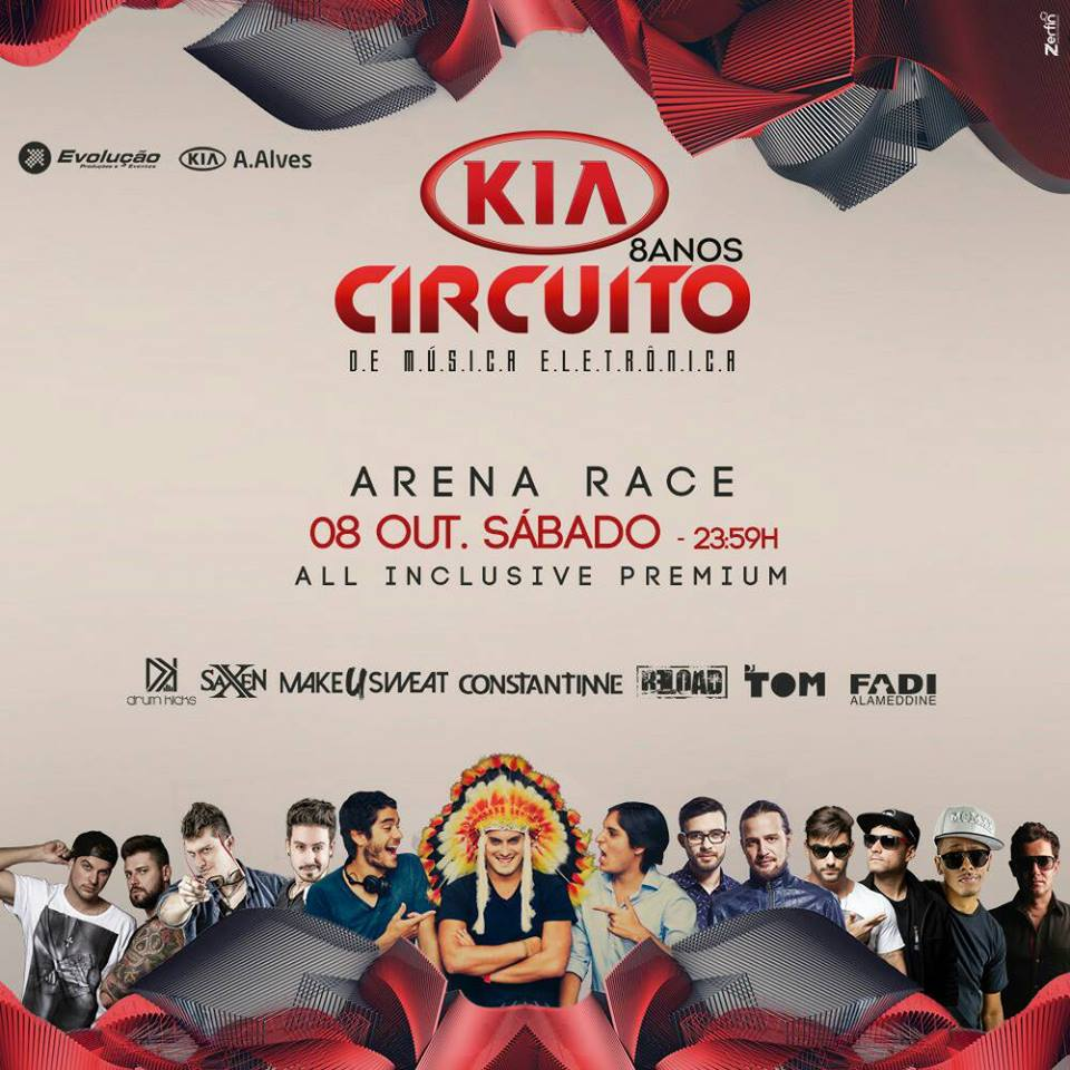 Circuito Kia : Uberl ndia recebe a ª edição da festa quot circuito kia